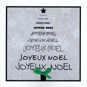 Cartes «Joyeux Noël»