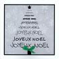 Karten «Joyeux Noël»