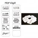 "petits mots ""mariage"""