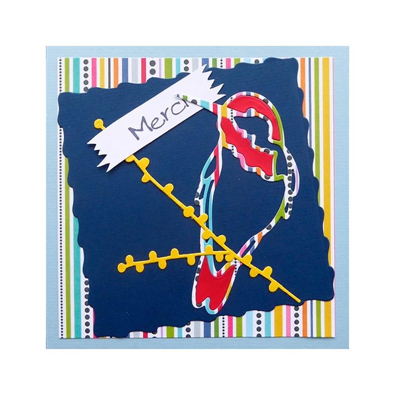 Cartes « Trio festif d'oiseaux »