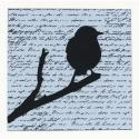 Cartes « Oiseaux perchés »
