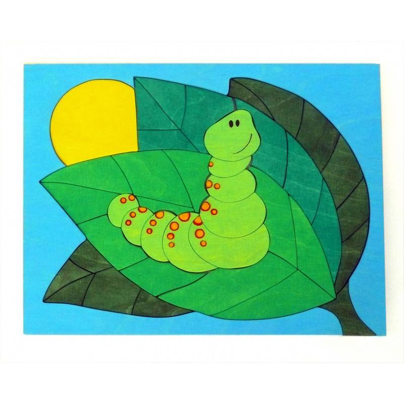 Schmetterlingpuzzle